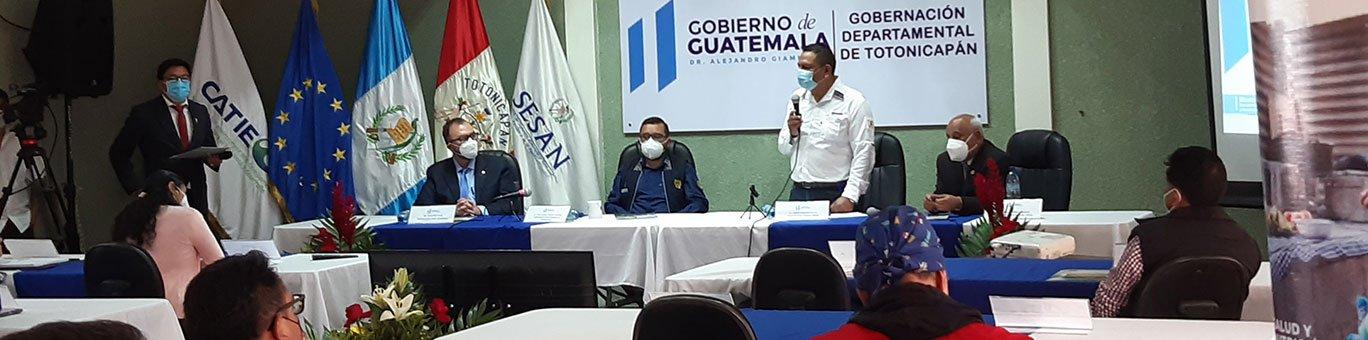 Presentan el Sistema de Información Departamental de Seguridad Alimentaria y Nutricional de Totonicapán, Guatemala