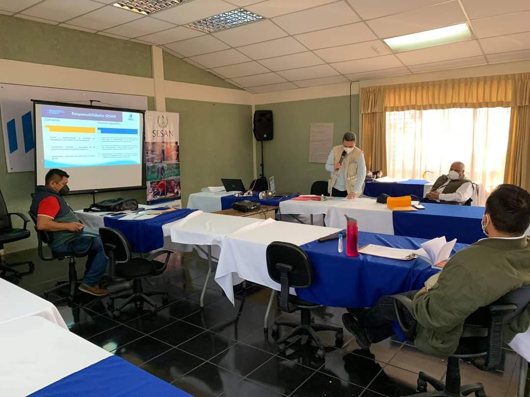 SESAN realiza taller de capacitación sobre Nutri Niños